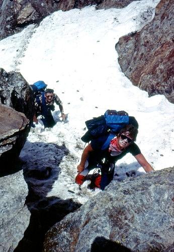 Mb18 sulle rocce affioranti