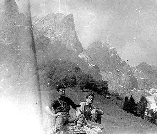 am12 giu 1960 dopo la salita alla Sfinge