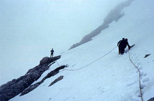 dc14 travrsi sulla neve