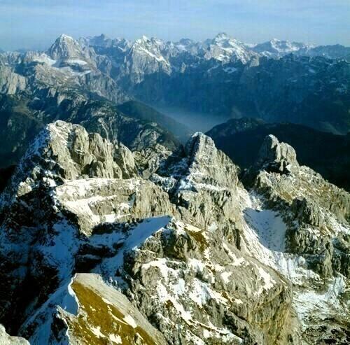 jf15 verso le Alpi Giulie Slovene
