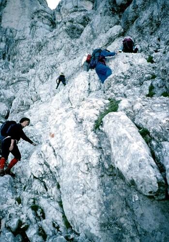 mf25 tratto in arrampicata