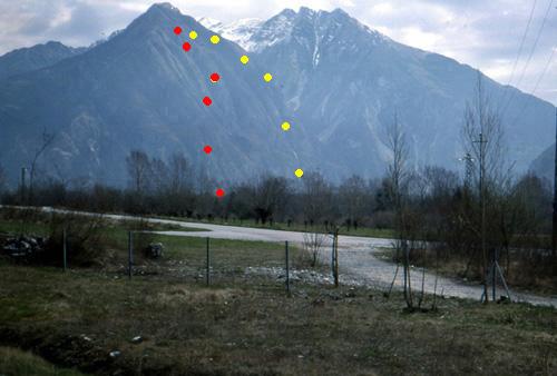 36 x 11X  Gruppo del Monte Plauris - Copia