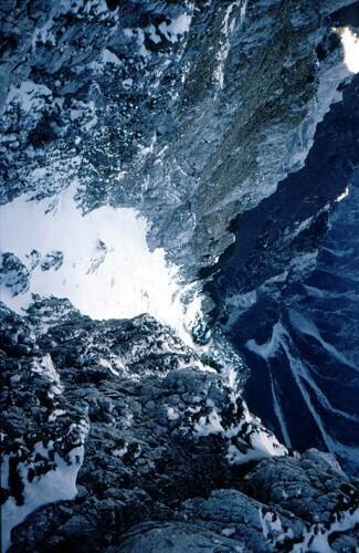 18X Il ghicciaio del Monte Plauris  7X  dalla cresta E
