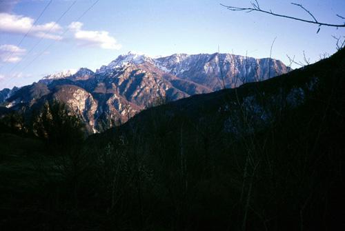 22 Il versante Ovest del Gruppo del Monte Plauris